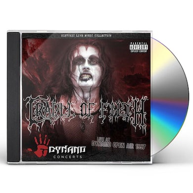 Cradle Of Filth LIVE AT DYNAMO OPEN AIR 1997 CD