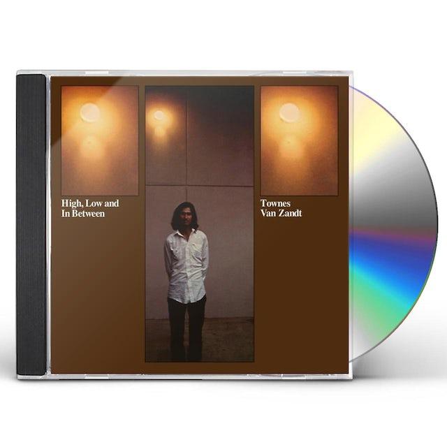 Townes Van Zandt HIGH LOW & IN BETWEEN CD