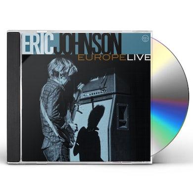Eric Johnson EUROPE LIVE CD