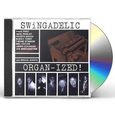 Swingadelic ORGANIZED! CD