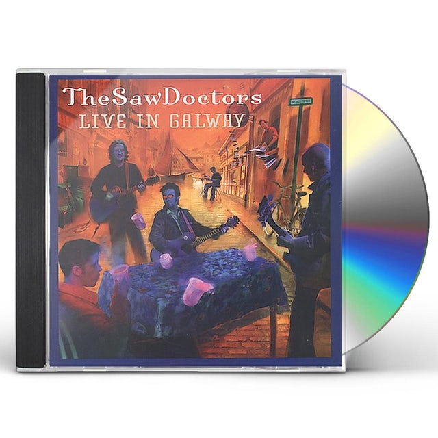 Saw Doctors LIVE IN GALWAY CD