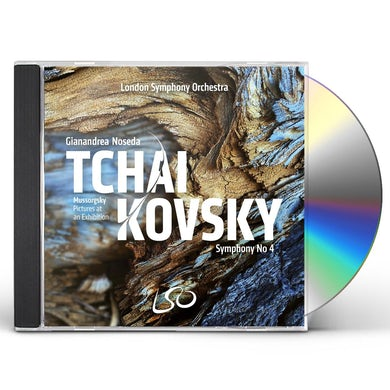 Tchaikovsky/Mussorgsky: Symphony No. 4/Pictures At An Exhibition CD