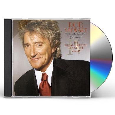 Rod Stewart GREAT AMERICAN SONGBOOK 4 CD