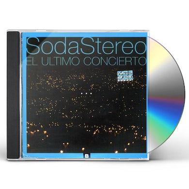 Soda Stereo VINYL REPLICA: EL ULTIMO CONCIERTO B CD