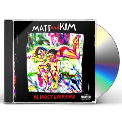Matt & Kim ALMOST EVERYDAY CD