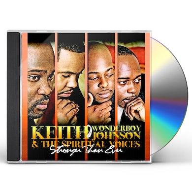 Keith Wonderboy Johnson STRONGER THAN EVER CD