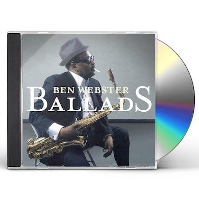 Ben Webster BALLADS CD