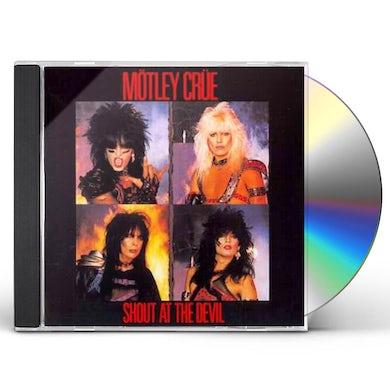 Mötley Crüe SHOUT AT THE DEVIL CD