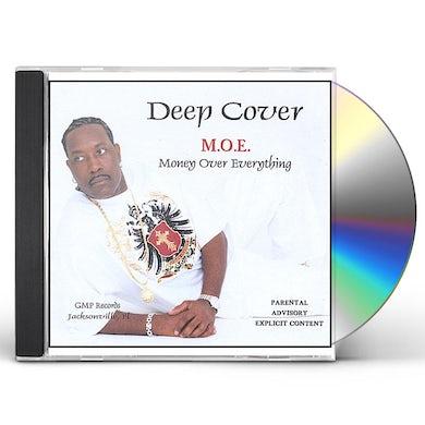 Deep Cover M.O.E. (MONEY OVER EVERYTHING) CD