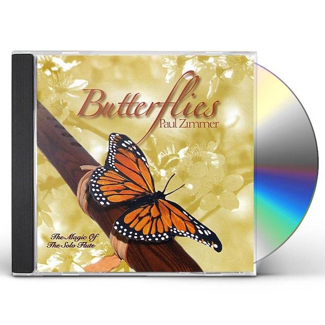 Paul Zimmer BUTTERFLIES CD