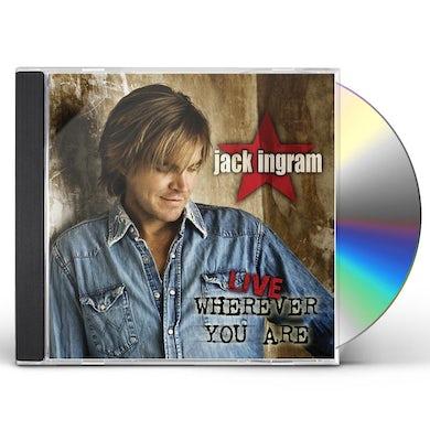 Jack Ingram LIVE WHEREVER YOU ARE CD