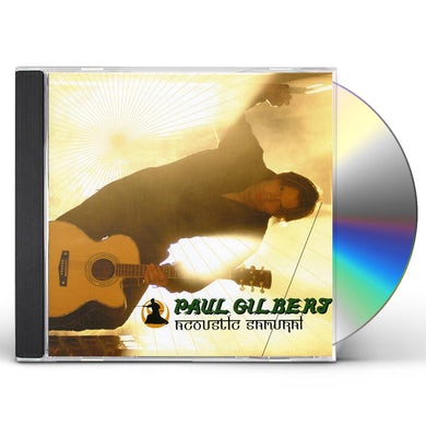 Paul Gilbert ACOUSTIC SAMURAI: LIVE AT HARD ROCK CAFE TOKYO CD
