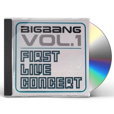 BIGBANG 1ST LIVE CONCERT: VOL 1 CD