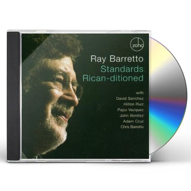 Ray Barretto STANDARDS RICAN-DITIONED CD