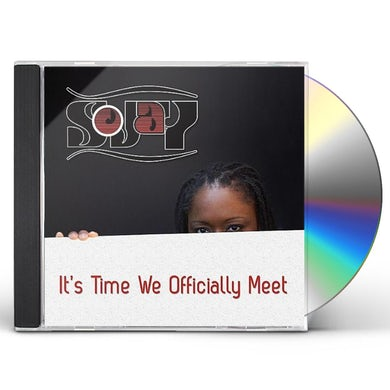 SoJay IT'S TIME WE OFFICIALLY MEET CD