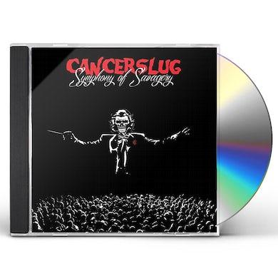 Cancerslug SYMPHONY OF SAVAGERY CD