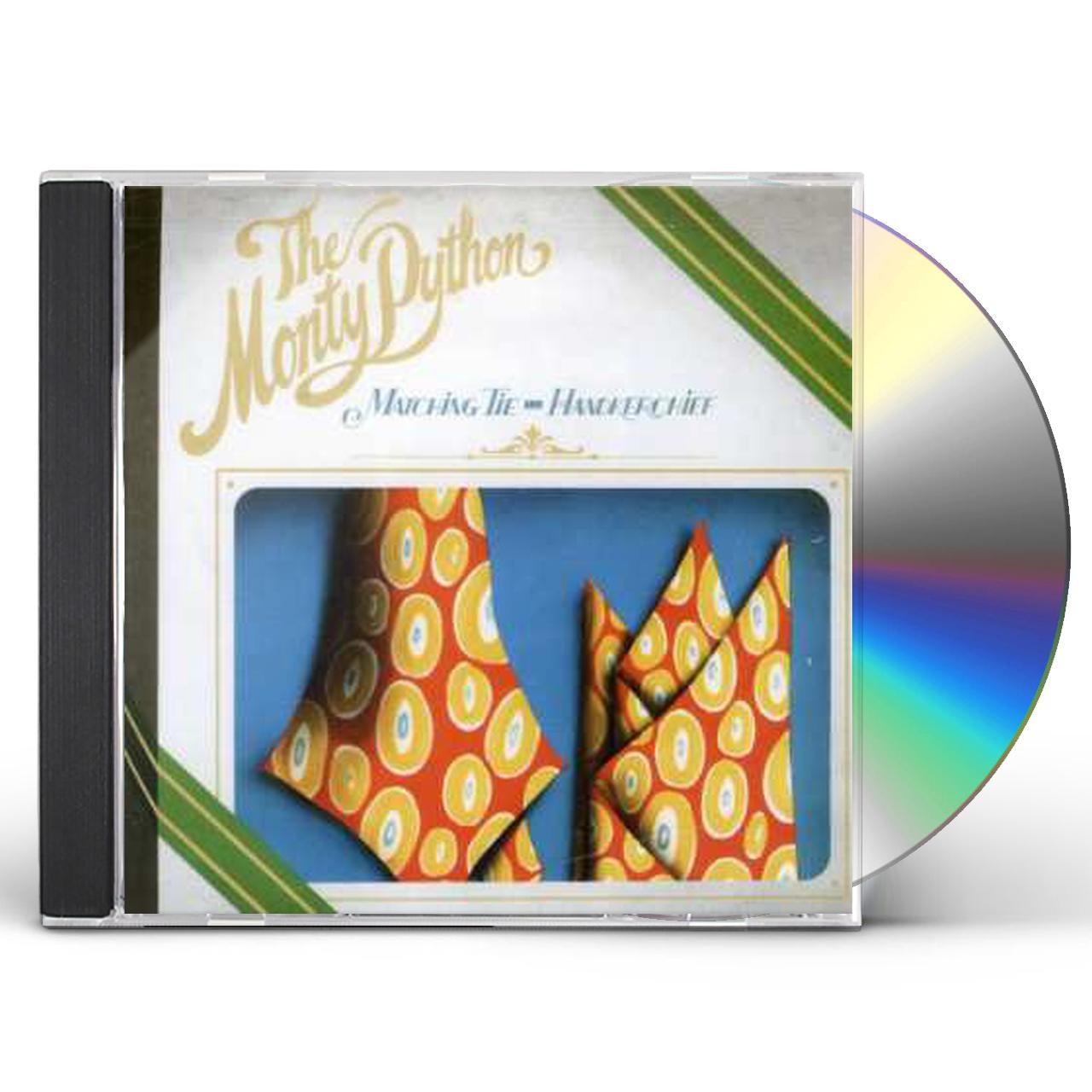Monty Python MATCHING TIE & HANDKERCHIEF CD