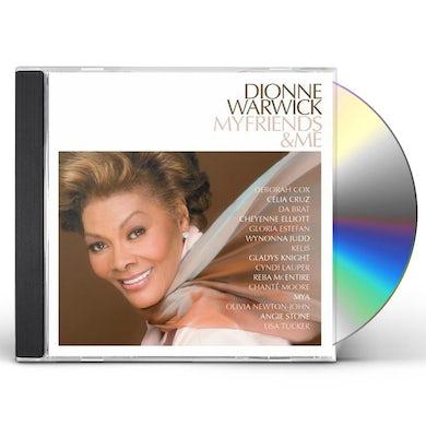 Dionne Warwick MY FRIENDS & ME CD