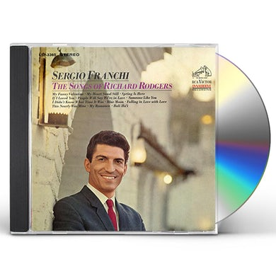 Sergio Franchi SONGS OF RICHARD RODGERS CD