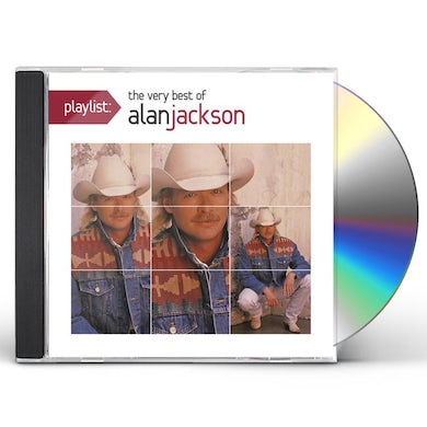 Alan Jackson PLAYLIST: VERY BEST OF CD