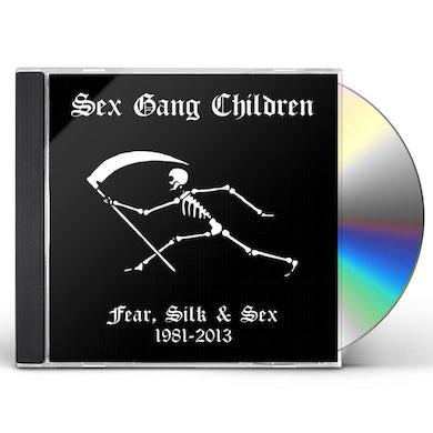 Sex Gang Children FEAR SILK & SEX 1981-2013 CD