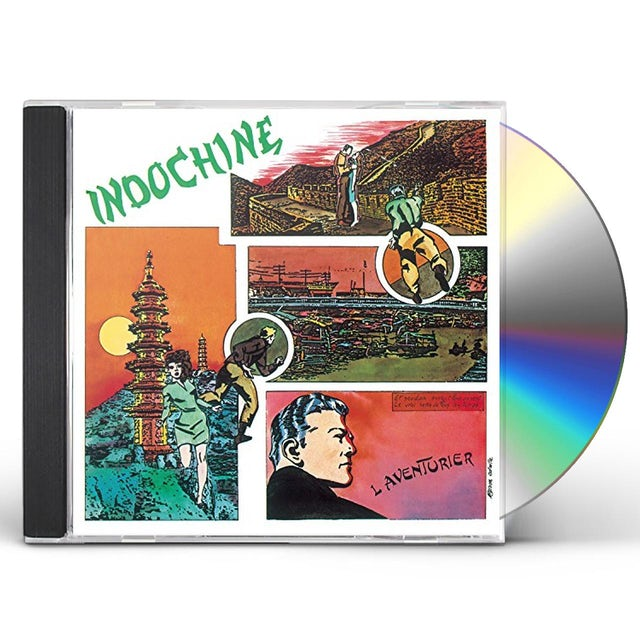 Indochine L'AVENTURIER CD