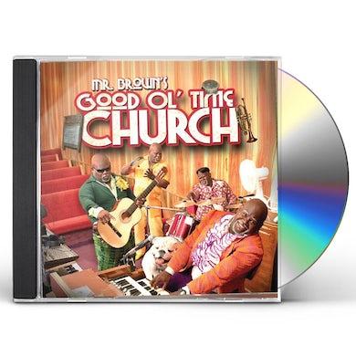 David Mann MR BROWN'S GOOD OL TIME CHURCH CD