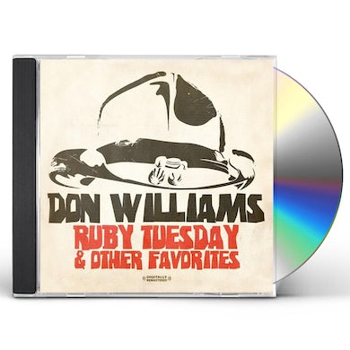 Don Williams RUBY TUESDAY & OTHER FAVORITES CD