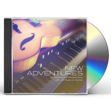 Tony Monaco HOWARD PAUL: NEW ADVENTURES CD