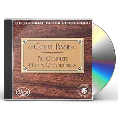 Count Basie COMPLETE DECCA 1937-39 CD