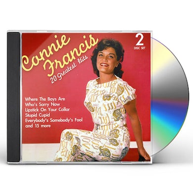 Connie Francis 20 GREATEST HITS CD