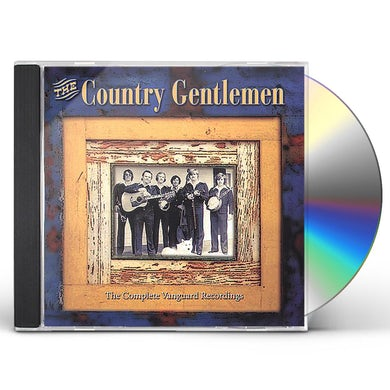 Country Gentlemen COMPLETE VANGUARD RECORDINGS CD