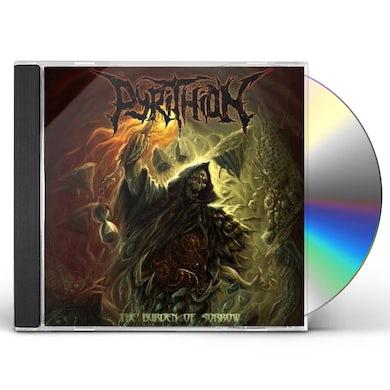 Pyrithion BURDEN OF SORROW CD