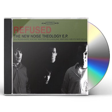 Refused NEW NOISE THEOLOGY CD