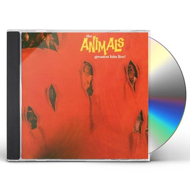 The Animals Greatest Hits Live CD