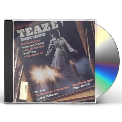 Teaze BODY SHOTS CD