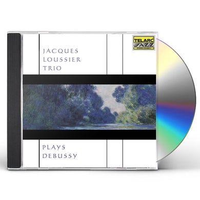 Jacques Loussier MUSIC OF DEBUSSY CD