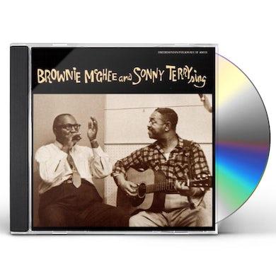 Sonny Terry / Brownie McGhee  SING CD