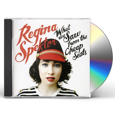 Regina Spektor WHAT WE SAW FROM THE CHEAP SEATS CD