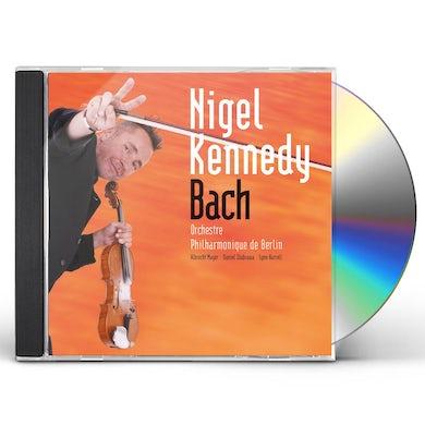 Nigel Kennedy BACH: CTO FOR VIOLIN, 2 VIOLINS CD