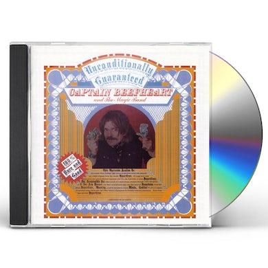 Captain Beefheart UNCONDITIONALLY GUARANTEED CD