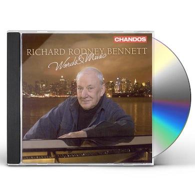 Richard Rodney Bennett WORDS & MUSIC CD