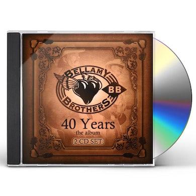 Bellamy Brothers 40 Years: The Album CD