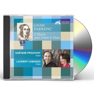 Louise LOEUVRE POUR VIOLON ET PIANO CD