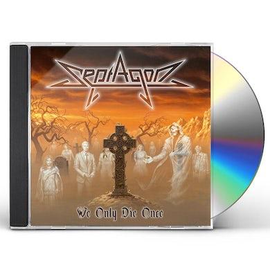 SEPTAGON WE ONLY DIE ONCE CD