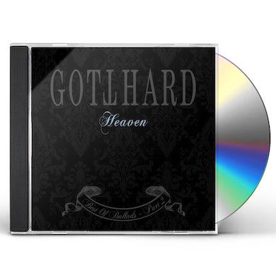 Gotthard HEAVEN BEST OF BALLADS PART 2 CD