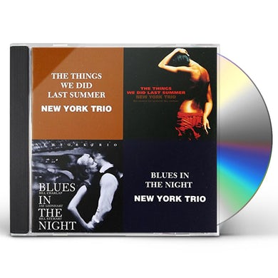 New York Trio THINGS WE DID LAST SUMMER CD