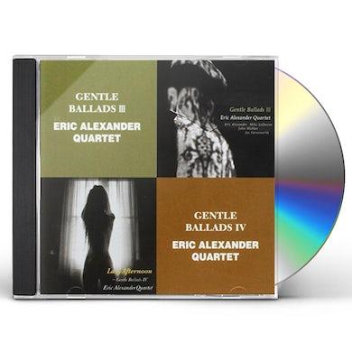 Eric Alexander GENTLE BALLADS III CD