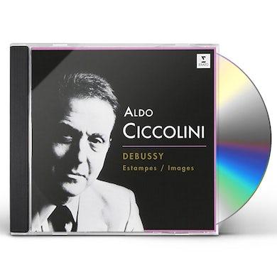 Aldo Ciccolini DEBUSSY: ESTAMPES. IMAGES 1ER SERIE. CD