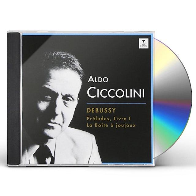 Aldo Ciccolini DEBUSSY: PRELUDES LIVRE I. LA BOITE CD